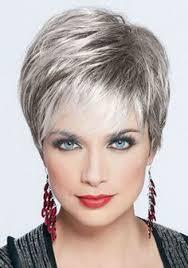 short styles for grey hair streaked wedge haircuts for women over 60 hairstyles for women over