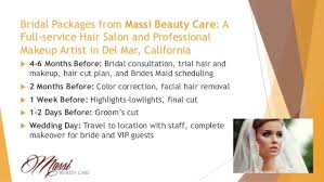 Makeup Hair Salon Massi Beauty Care Hair Salon Presentation
