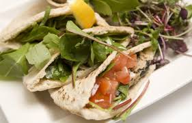 greek tuna salad pita pockets with feta cheese recipe by
