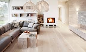 Wohnzimmer Hell Und Modern Douglasie Dielenboden In Schönem Wohnzimmer 11 Wohnen