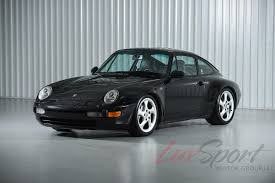 porsche supercar black 1995 porsche 993 carrera 4 coupe carrera 4 stock 1995125 for