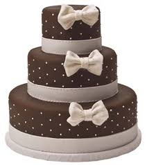 brown cake dots and bows pink and brown cake country kitchen sweetart cake