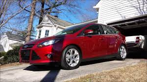 ford focus fold down back seat flat youtube