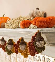 free crochet patterns for home decor free fall crochet patterns home decor hats and more mantle