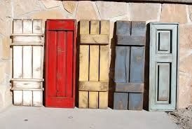 square wood wall decor awesome shutter wall decor ideas rustic shutters decor antique