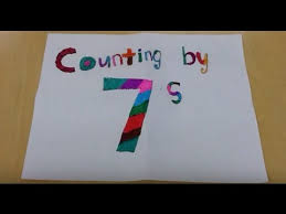 Counting By 7s Song Skip Count By 7 Song