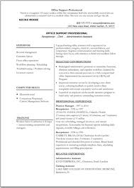 Resume Template Sample Printable Sample Resume Eliving Co