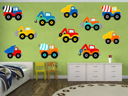 construction truck decal truck wall decal vinyl yendoprint