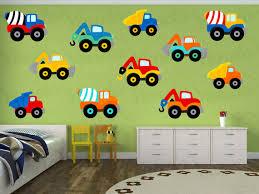 construction truck decal truck wall decal vinyl yendoprint