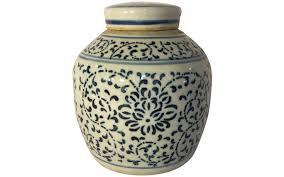 What Is Ginger Jars Viyet Designer Furniture Accessories Vintage Chinese Blue
