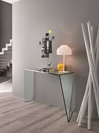 narrow hallway modern house design with gray wall interior color