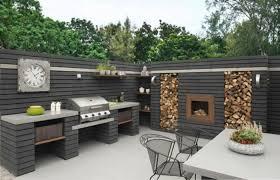 cuisine d été aménagement amenager grand jardin à â 1001 idées d aménagement d une cuisine d