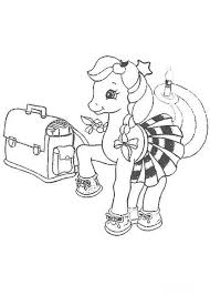 16 pony coloring pages images