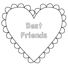 blank heart coloring page kids drawing and coloring pages marisa
