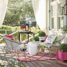 Grandin Road Outdoor Rugs by Front Porch Makeover One Porch Three Sunny Ways Grandin Road Blog
