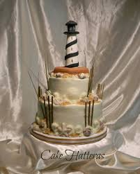lighthouse cake topper cape hatteras lighthouse wedding cake cakecentral