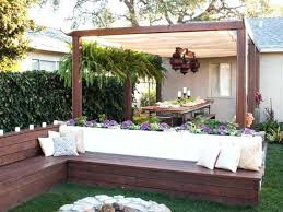 Small Backyard Patio Ideas On A Budget Backyard Redo On A Budget Chic Simple Patio Ideas For Small