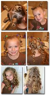 cute girl hairstyles rag curls 37 creative hairstyle ideas for little girls