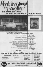vintage jeep ad jeep u0027 traveller ads ewillys