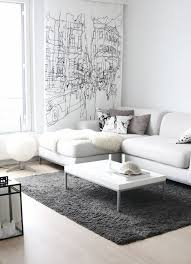 Best White Sofas Creating Clean Condition For Interior Design - Living room with white sofa