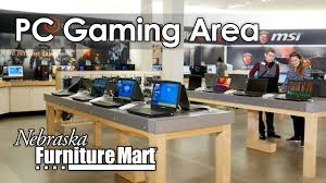 go inside the pc gaming area at nfm youtube