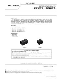 automotive relays mouser