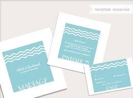 faire part mariage theme mer un faire part mariage sur le thème de la mer classique mais