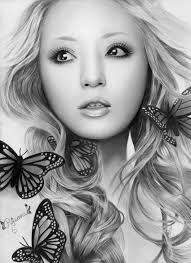 pencil art drawings of women women in amazing pencil sketches