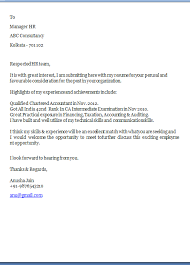 Cover Letter For Chartered Accountant Staff Accountant Cover Letter Composing Cover Letter May Seem