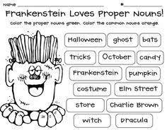 common and proper nouns worksheets for grade 1 google search