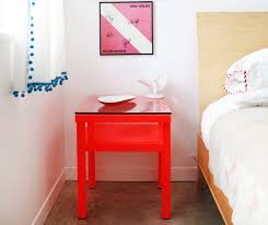 favorite red nightstands for the bedroom apartment therapy