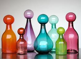new ideas decorated glass bottles decorative glass jars lushlee