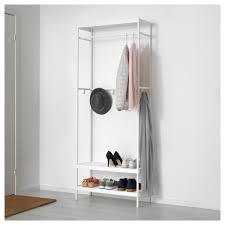 mackapär coat rack with shoe storage unit 78x193 cm ikea