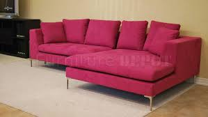pink leather sectional sofa impressive pink sectional sofa bonners furniture edinburghrootmap