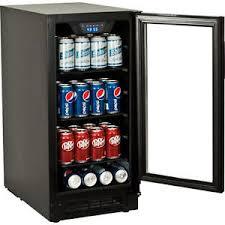 Glass Door Beverage Refrigerator For Home by Built In Undercounter Glass Door Refrigerator Slim Beverage