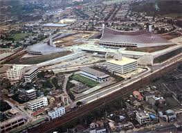 1964 summer olympics venues tokyo old tokyo