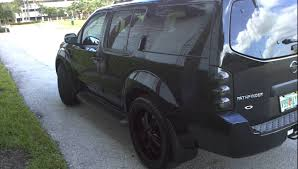 black nissan pathfinder black custom pathfinder youtube