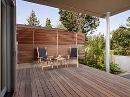 wall fence design landscape modern with outdoor dining wooden fencing