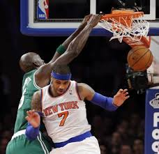 Carmelo Anthony Bench Press Melo Brings Extra Muscle In Form Of Bodyguard To Boston Ny
