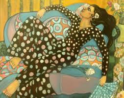 oil paintings zulia gotay hispanic latino figurative oil