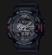 Jam Tangan G Shock Pertama casio g shock ga 400 1bdr digital analog black resin