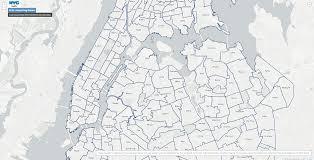 Nyc Neighborhoods Map Nyc Is So Opendata It Has A Bubble Map U0026 Neighborhood Map Of