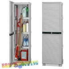 armadietti in pvc armadio resina portascope il pi禮 forte pvc esterno 50x172x39 porta