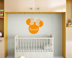 Nursery Name Wall Decals by Personalised Wall Decals U0026 Quotes Custom Your Own Family Initial