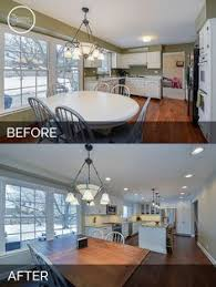 Kitchen Remodel Before After by Kitchen Renovation Before And After Wolfbuilding Kitchen