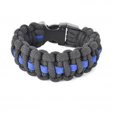 bracelet survival images Paracord bracelet quot survival bracelet quot thin blue line cop shop jpg