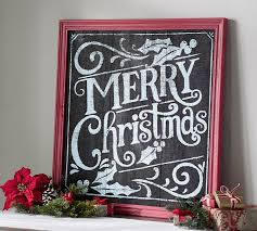 merry christmas sign merry christmas chalkboard sign wall pottery barn