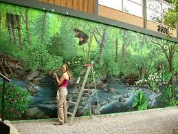 nature murals ihsanudin com outdoor wall murals ideas bookmark it