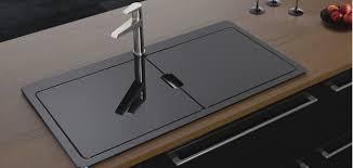 Kitchen  Bathroom News Astracast Adds Vantage Sio To Sinks - Glass sink kitchen