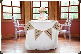 Sweet Heart Table Perfect Beginnings Head Table Alternatives For Your Wedding